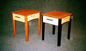 Single Drawer End Tables Image